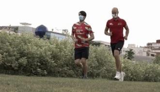 Martín Barreiro prepara su primera maratón tras pasar el COVID-19: