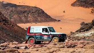 El Mercedes Clase G realiza una gran actuación en la primera parte del Dakar Classic 2021