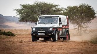 El Mercedes Clase G encara la parte final del Dakar Classic 2021 con buenas sensaciones