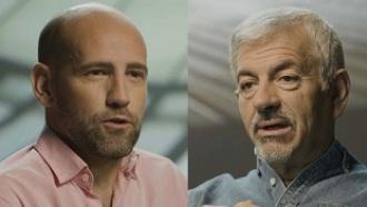 Gonzalo Miró y Carlos Sobera: distintos equipos, misma pasión