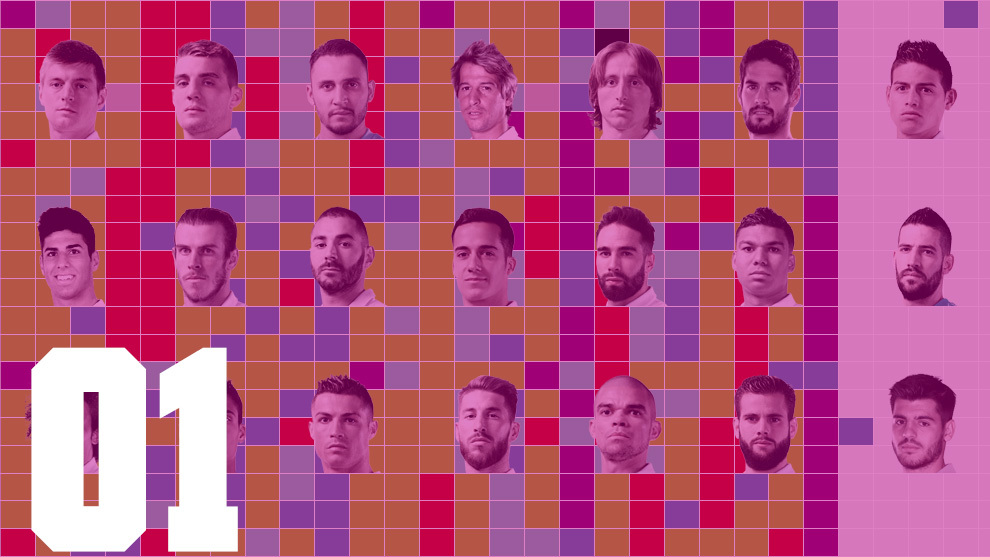 Los colores del Madrid 01