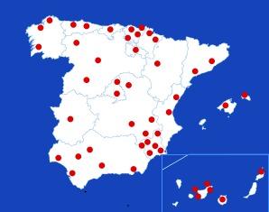 Radio Marca Mapa Diales