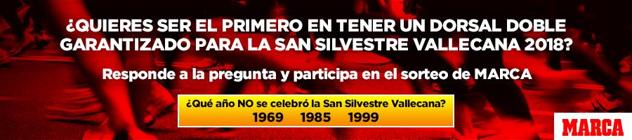Sorteo un Dorsal doble para la Nationale Nerderlanden San Silvestre Vallecana