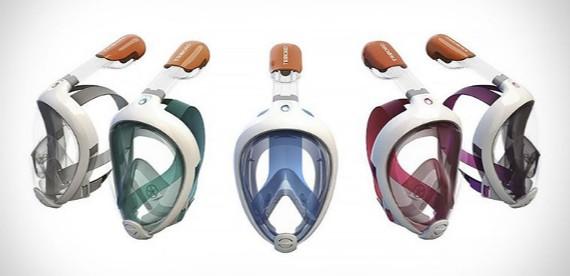 adaaafa5d El sistema  Dry Top  de la máscara cuenta con un flotador que cierra el  snorkel para hacer que ni una sóla gota se cuele en su interior.