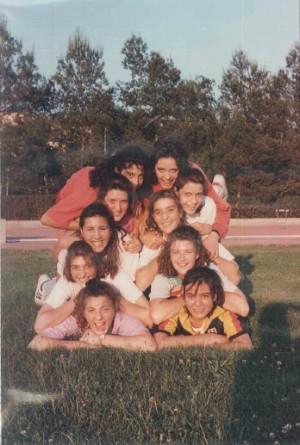 Jugadoras de la temporada 1987/1988