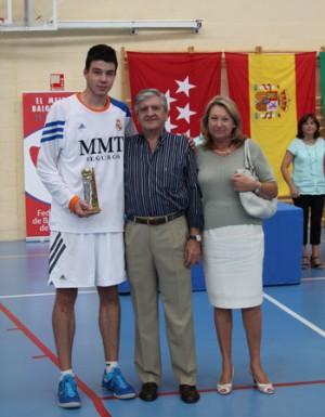 Barreiro, MVP del Torneo de Villaviciosa en pretemporada. | Foto: FBM