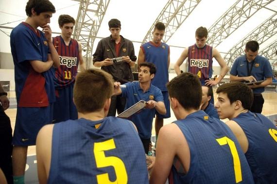 Marc Calderón en una imagen la pasada campaña con el Junior. | Foto: Mundo Deportivo
