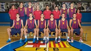 Cadete A del FC Barcelona, sin Diagne en imagen. | Foto: FC Barcelona