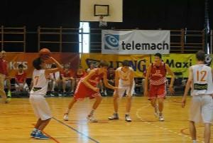 Alex Rubiera con la selección española