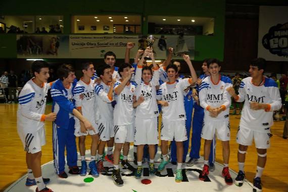 El Real Madrid, campeón de la Minicopa Málaga 2014. | ACB Photo
