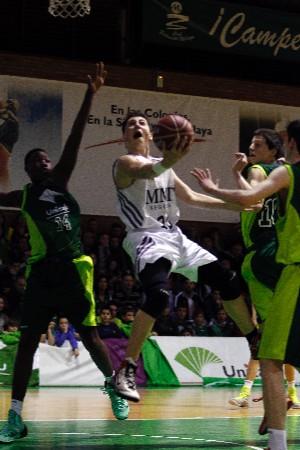 Tomas Balciunas, MVP de la Minicopa Málaga 2014. | ACB Photo