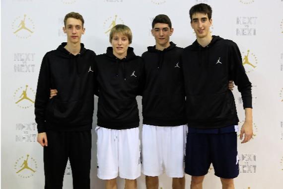 Los cuatro españoles All-Star.   Foto: NIKE