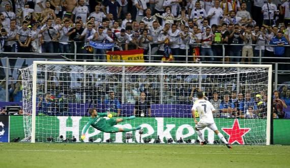 Cristiano Ronaldo (31) en la tanda de penaltis de la final de la Champions 2015 frente al Atl�tico