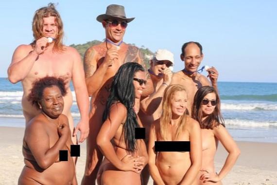 Nos Vamos A La Playa Capítulo 3 Las Olimpiadas Nudistas