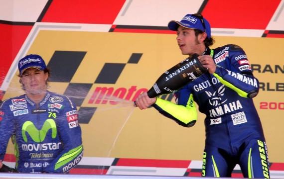 Rossi moja a Gibernau