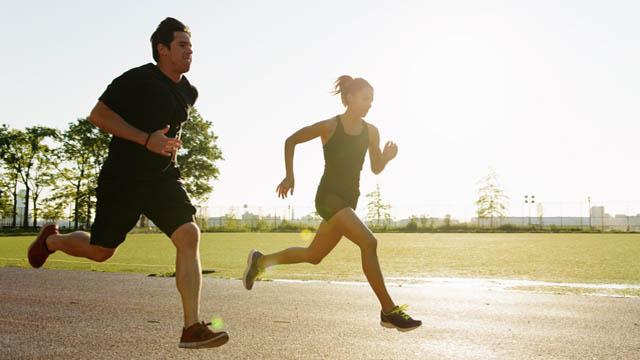 Bajar de peso al correr