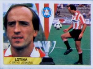 Miguel Ángel Lotina (Logroñés, temporada 87-88. Ediciones Este)