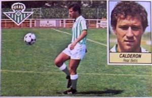 Gaby Calderón (Betis) Ediciones Este, 1984-1985