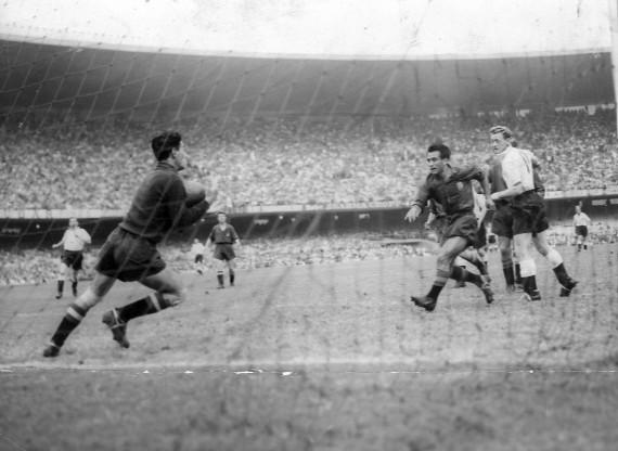 El cambio de portero de España en Brasil'50