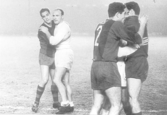 Luis Suárez y Alfredo Di Stéfano