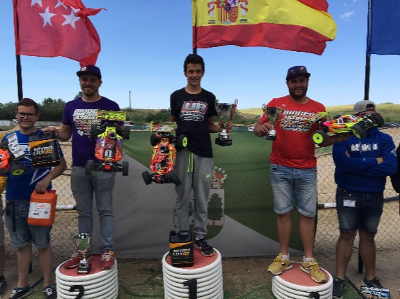Podium 2ª Campeonato España 1/8 tt