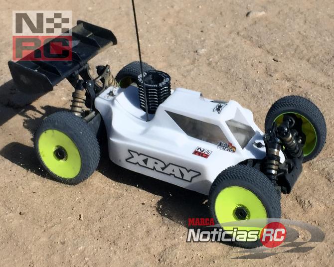 xray xb8 rodando en ATVRACING