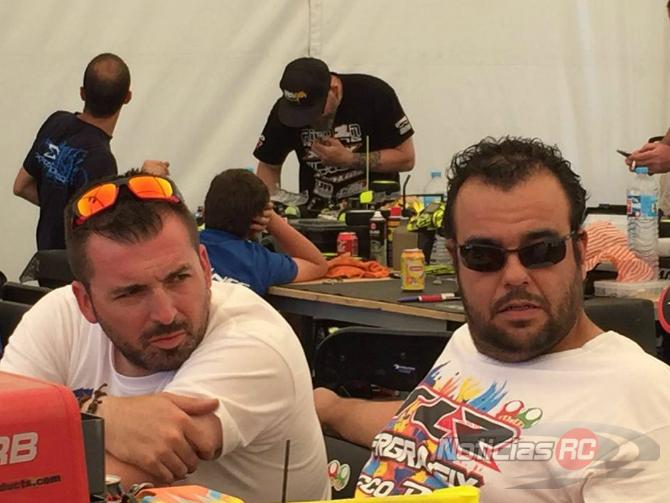 Carlos fernández en boxes