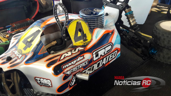 Associated RC8B3.1 Ongaro en Suecia