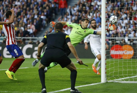 real madrid atletico final champions 2014 gol