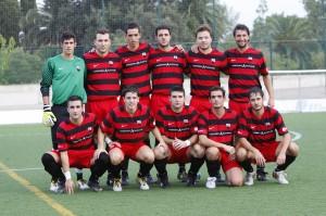 Once titular del Inter manacor. Foto de www.futbolbalear.es
