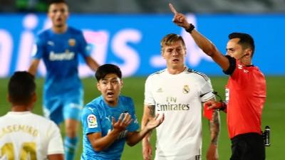 Real Madrid Vs Valencia Cf En Vivo Minuto A Minuto La Liga España