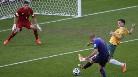 Gol de Robben (0-1) en el Australia-Holanda