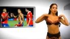 La presentadora venezolana menos pudorosa del Mundial