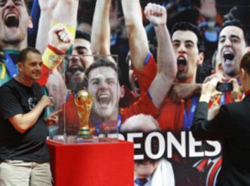 La Copa del Mundo arrasa en Madrid