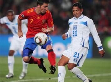 Hace un año Villa se salvó de una sanción en el Mundial