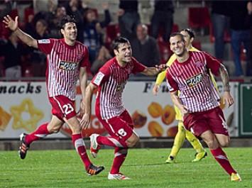Girona 2-1 Villarreal B