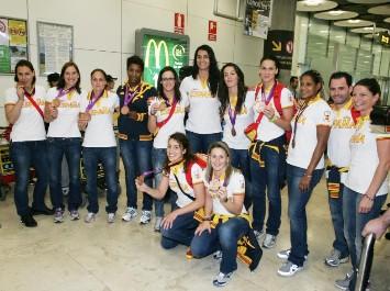 Las guerreras olímpicas llegan a Espańa
