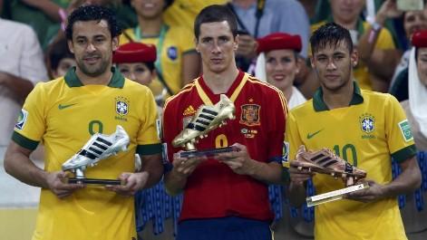 Todos los goles de Torres en la Copa Confederaciones
