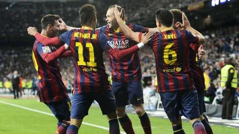 Gol de Iniesta (0-1) en el Real Madrid-Barcelona