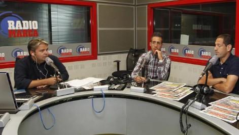 Capitanes del Murcia en Radio MARCA