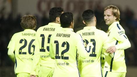 Huesca 0-4 Barcelona