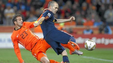 El gol de Iniesta según Canal Sur