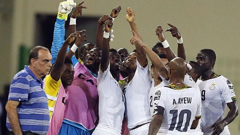 Copa �frica: Guinea Ecuatorial 0-3 Ghana