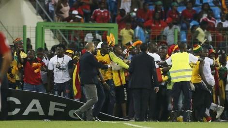 Copa �frica: La afici�n de Ghana, consternada