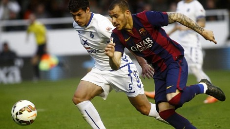 Liga Adelante: Resumen del Barcelona 2-2 Tenerife