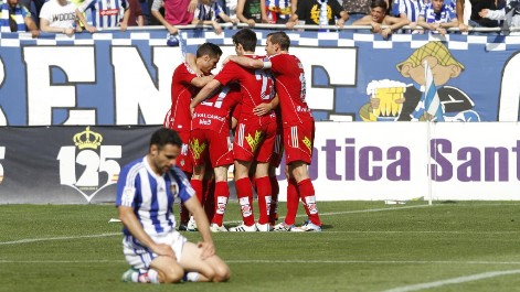 Liga Adelante: Resumen Recreativo 0-1 Ponferradina