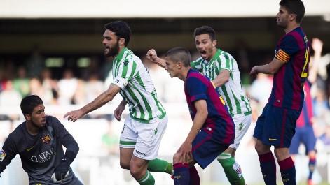 Liga Adelante: Resumen del Barcelona B 1-2 Betis