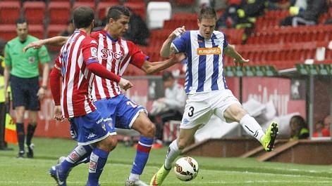 Liga Adelante: El resumen del Sporting 1-0 Alav�s