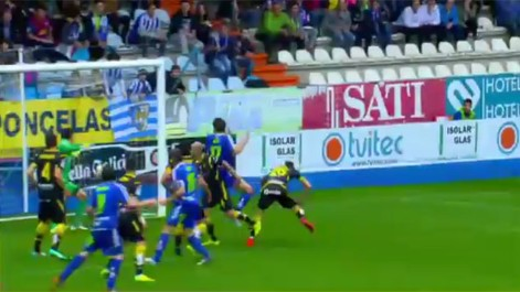 Liga Adelante: Resumen del Ponferradina 1-1 Zaragoza