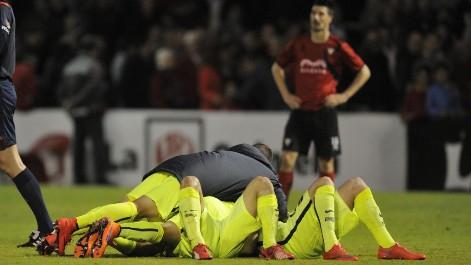 Mirand�s 2-3 Barcelona B